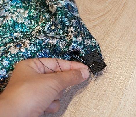 cerrar falda fácil