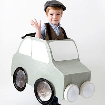 8 ideas disfraces caseros ninos coche