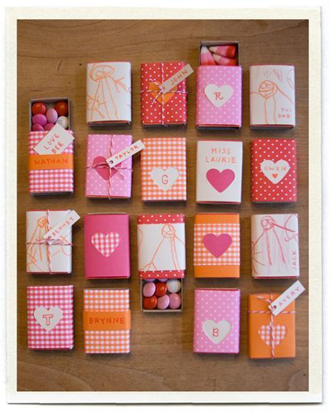 Cajitas de San Valentín