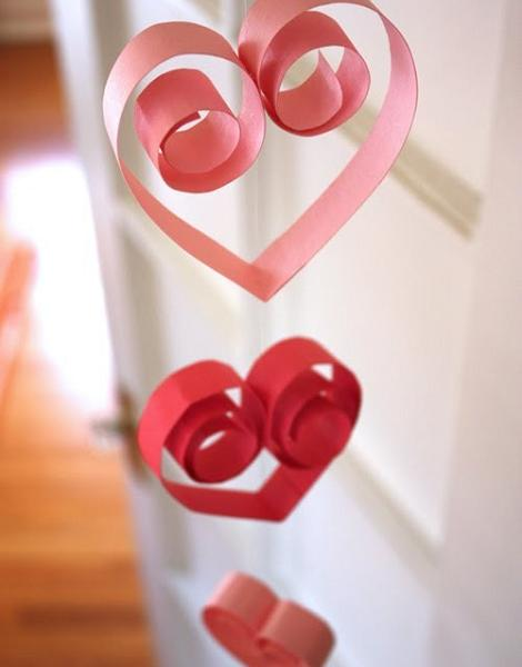 Guirnalda de corazones