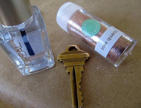 manualidad para personalizar llaves