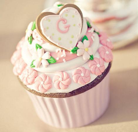 Cupcake para boda