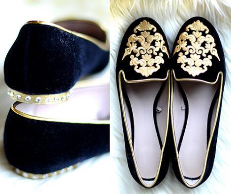 diy para decorar slippers y bailarinas