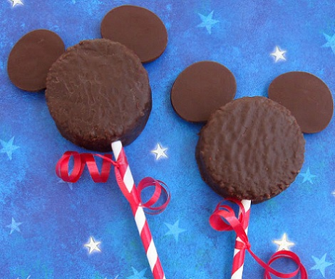 galletas caseras mickey mouse