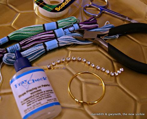pendientes de aro DIY