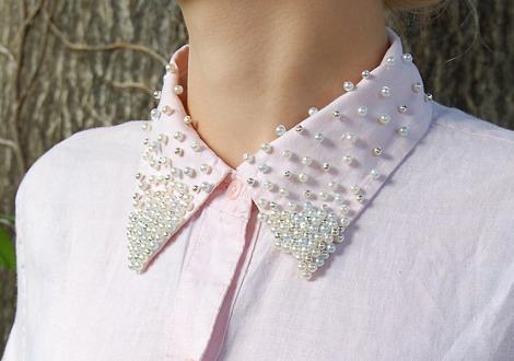 Cuello perlas