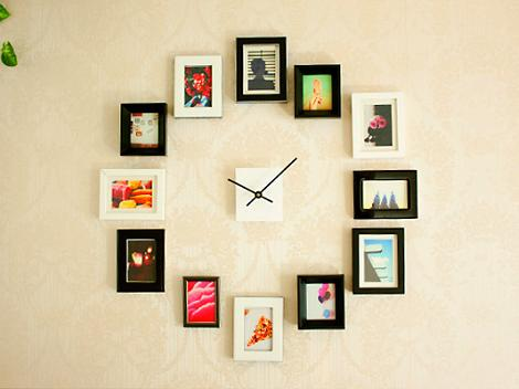 Reloj de pared DIY