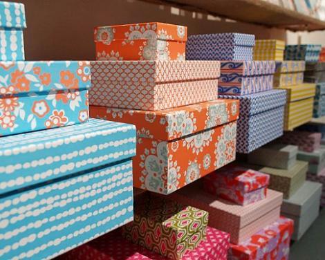 Forrar cajas de papel