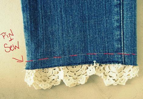 Pantalones DIY