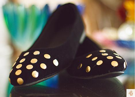 Zapatos tachuelas DIY