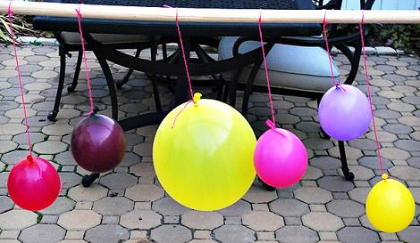Adornos fiesta globos