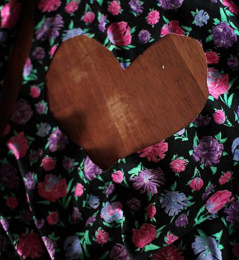Espalda corazón vestido