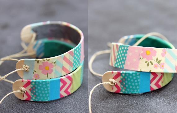 como-hacer-una-pulsera-rigida-y-decorarla-con-washi-tape