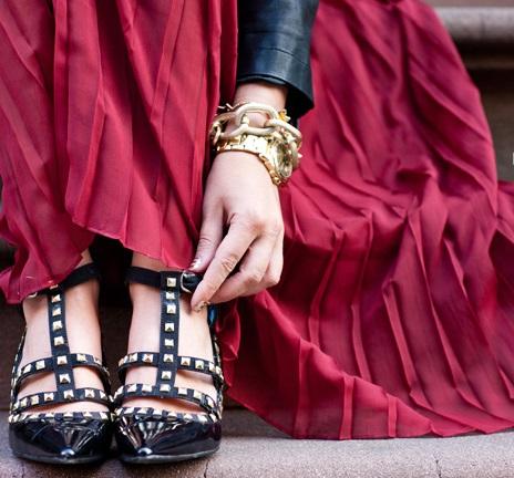 zapatos tachuelas valentino caseros