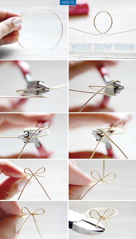 anillo alambre rapido intrucciones