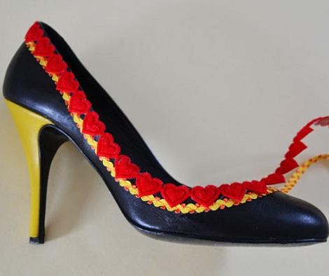 clon zapatos moda verano pom pom pegar