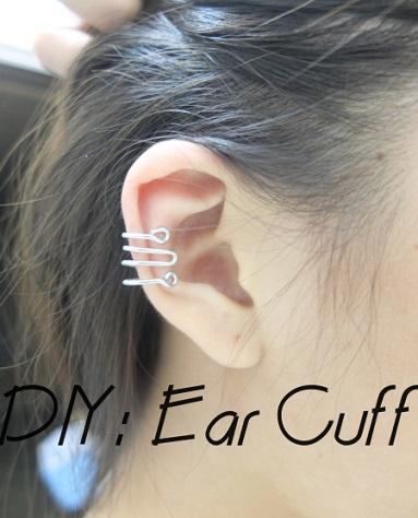 ear cuff casero