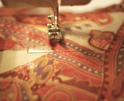 hacer kimono fular maquina