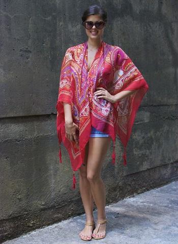 hacer kimono fular