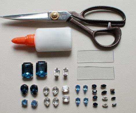 hacer pendientes en 4 pasos materiales