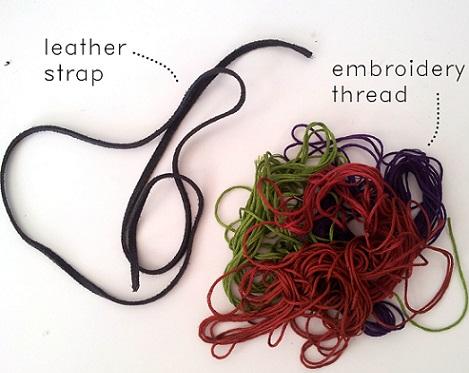 materiales para hacer pulseras de hilos