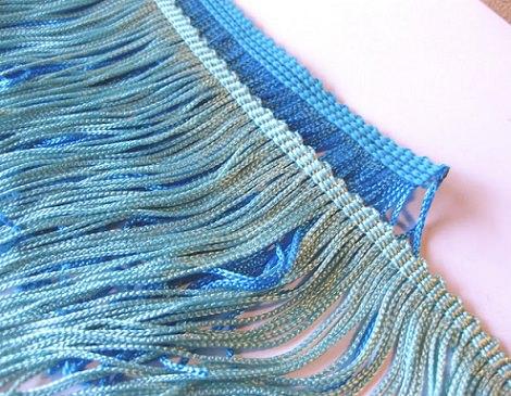 collar flecos reciclado tiras