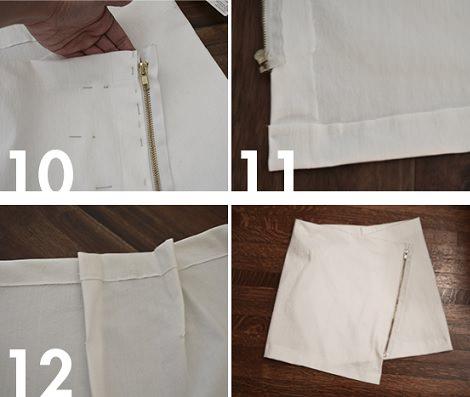 falda cruzada resultado