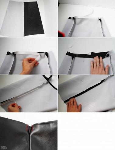 falda de tubo dobladillo