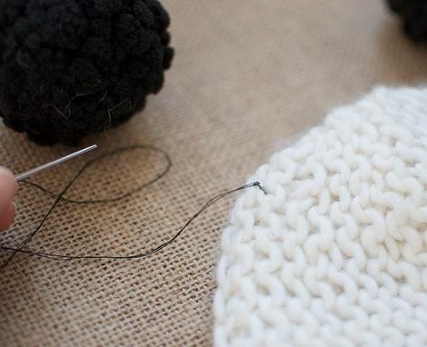 gorro lana orejas coser