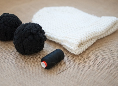 gorro lana con orejas