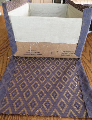 forrar cajas telas exterior