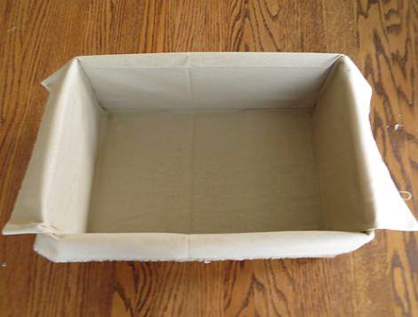 forrar cajas interior