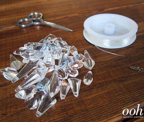 pulsera acrilico transparente