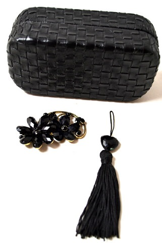 clutch de fiesta gafas materiales