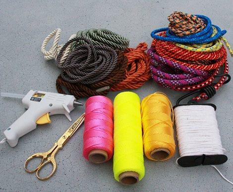 collar étnico materiales