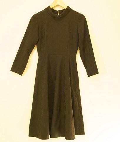 vestido manga larga