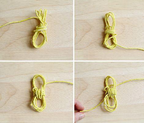 hacer nudo marinero paso 2