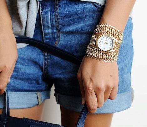 reloj pulsera reciclado